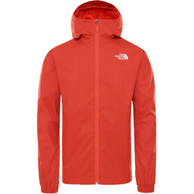 The North Face Quest Giacca Uomo, flare orange black heather